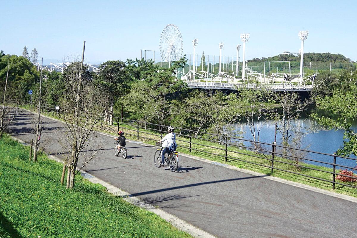 愛・地球博記念公園 モリコロパーク サイクリングコース