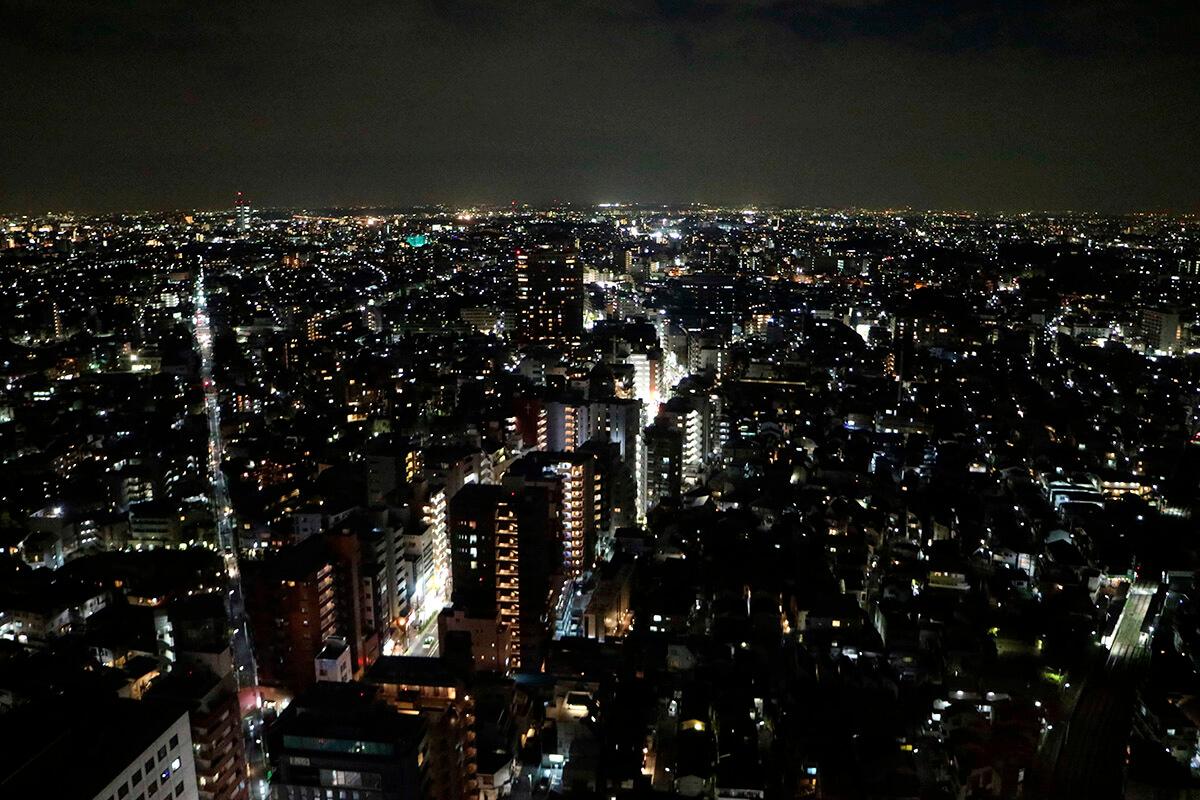 三軒茶屋 キャロットタワーからの夜景