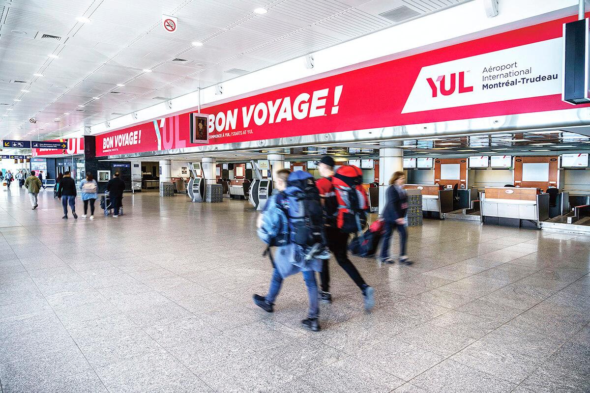 モントリオール・ピエール・エリオット・トルドー国際空港 © YUL Montreal-Trudeau International Airport