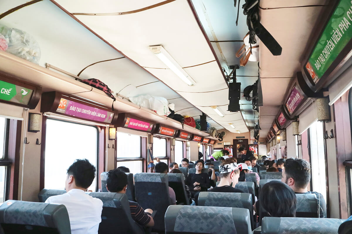 ベトナムのバス