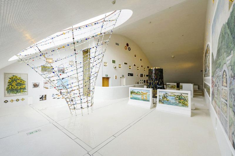 レトロなのに新しいタイルの世界。岐阜県の多治見市モザイクタイルミュージアムに行こう!