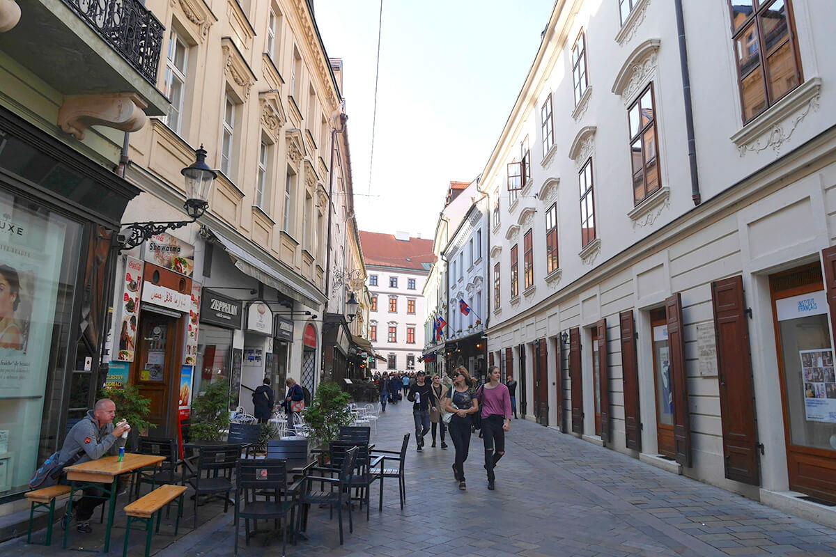 ブラチスラヴァの街並み