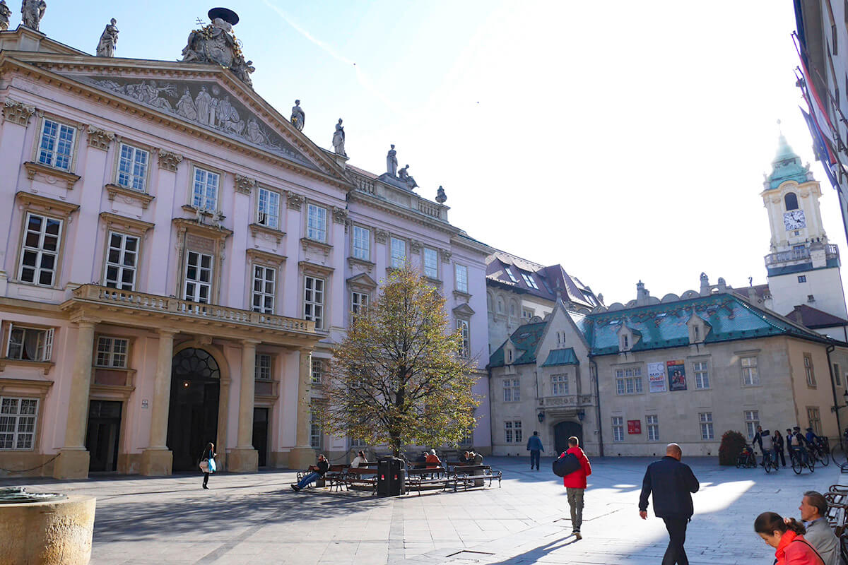 ブラチスラヴァの大司教宮殿