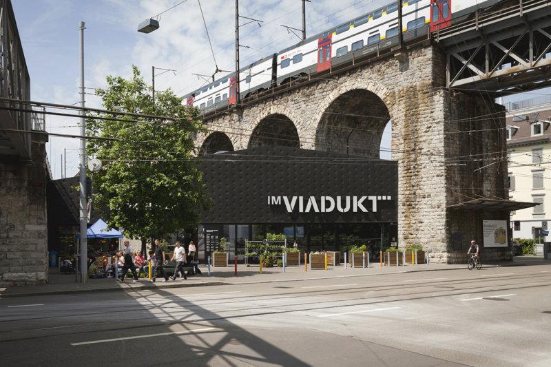 スイス・チューリッヒのおすすめスポット!高架橋にある商業施設「IM VIADUKT」