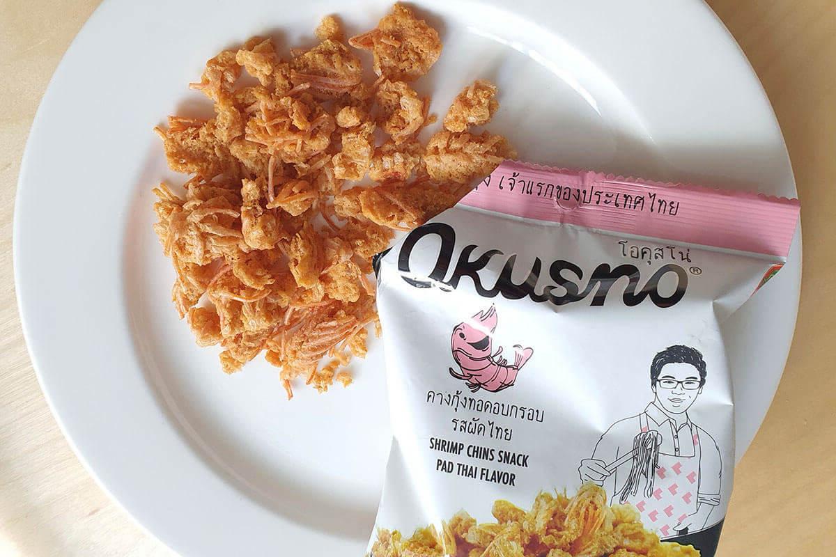 Okusno サクサクの食感とエビの風味がたまらないパッタイ味