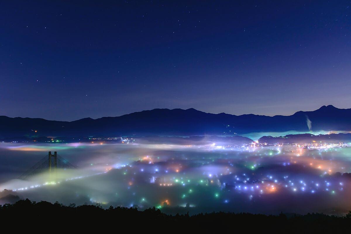 秩父ミューズパーク 雲海夜景
