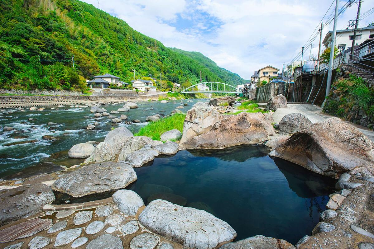 天ヶ瀬温泉 川湯