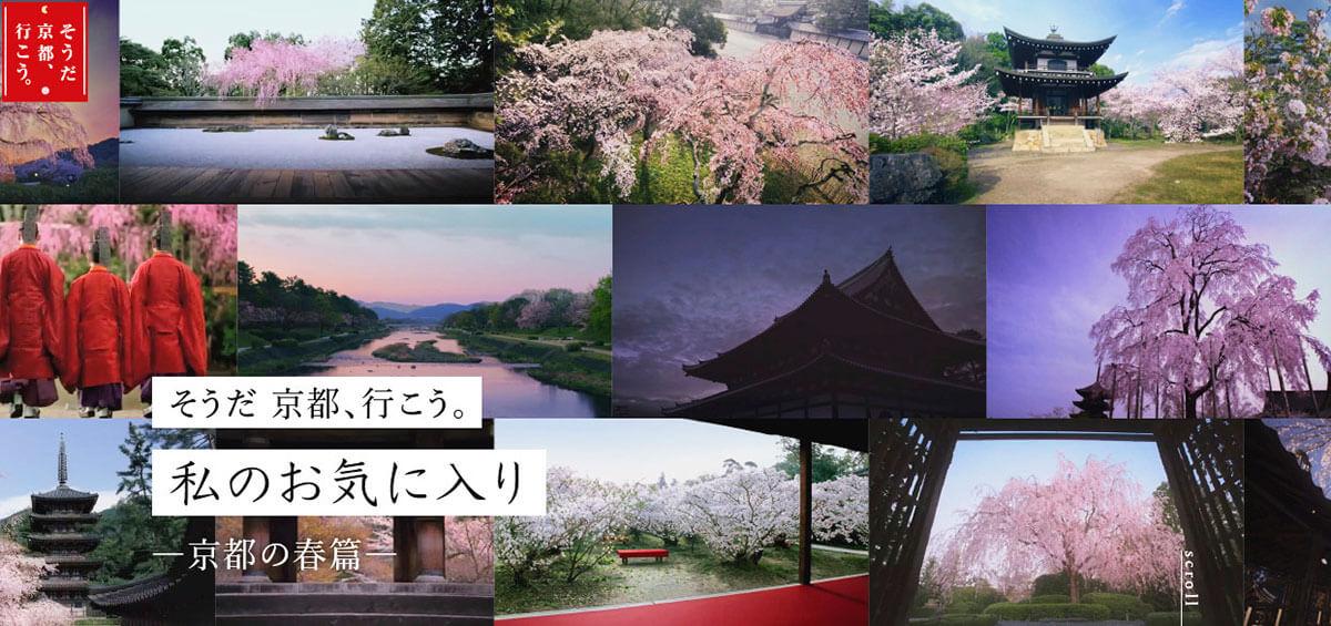 「そうだ 京都、行こう。私のお気に入り-京都の春篇-」