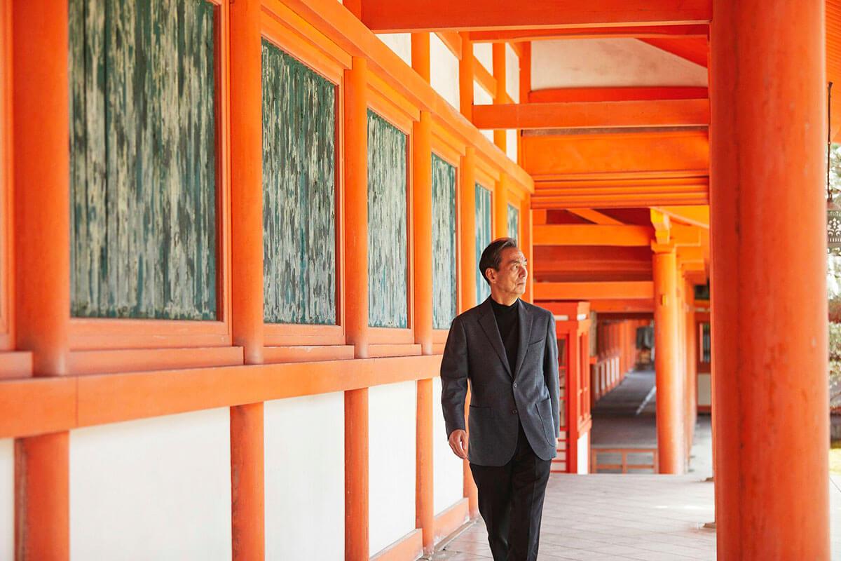 「そうだ 京都、行こう。私のお気に入り-京都の春篇-」 長塚京三さん