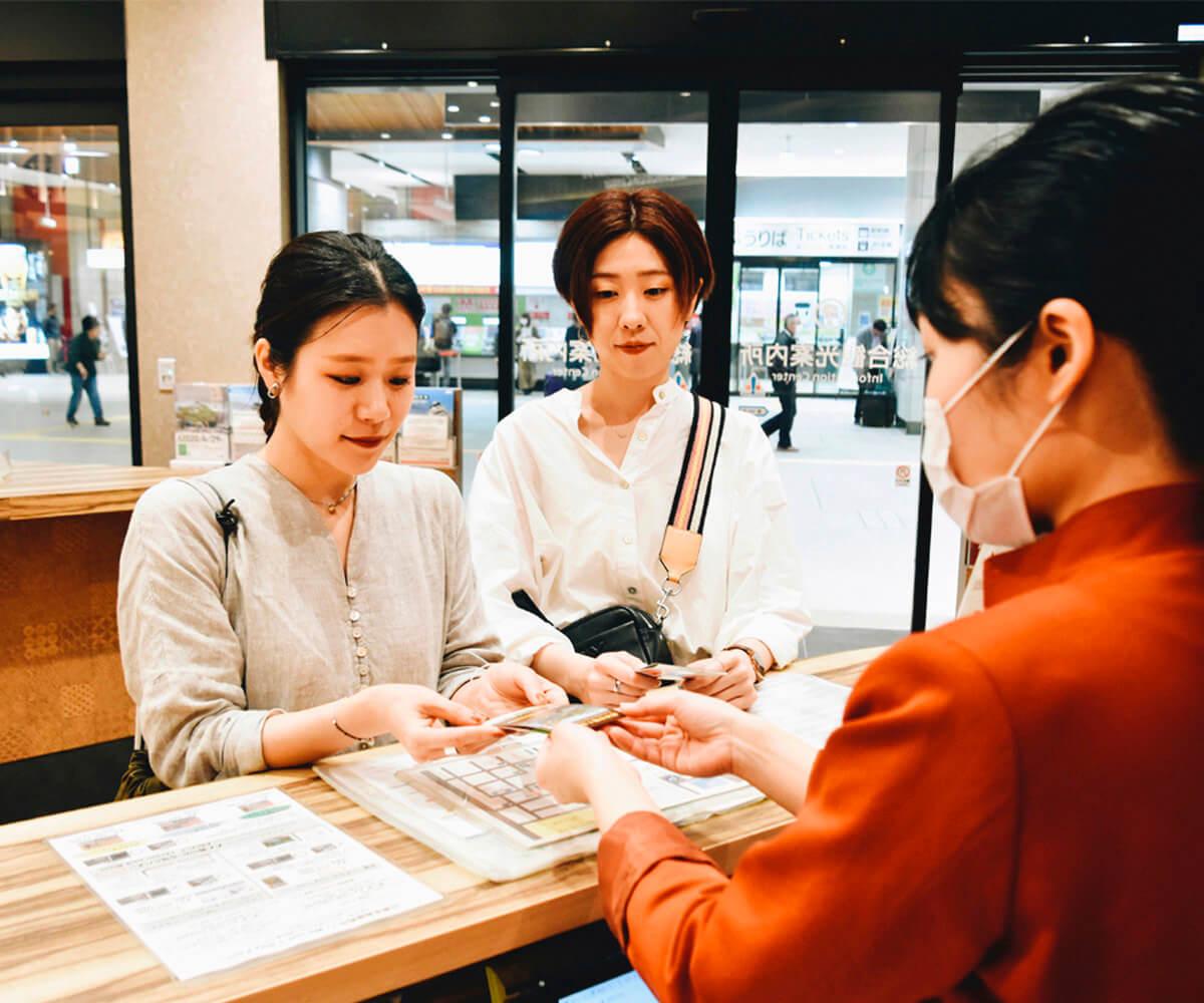 旅のポイントお得な「熊本市電1日乗車券」を購入