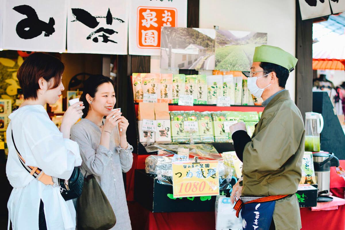 熊本県産のお茶の試飲、美味しい~
