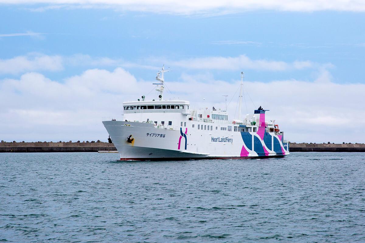 北海道 礼文島・利尻島を結ぶハートランドフェリー