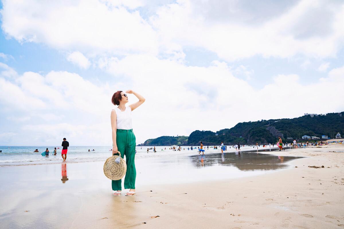 全国でも屈指の人気ビーチ!白浜大浜海水浴場