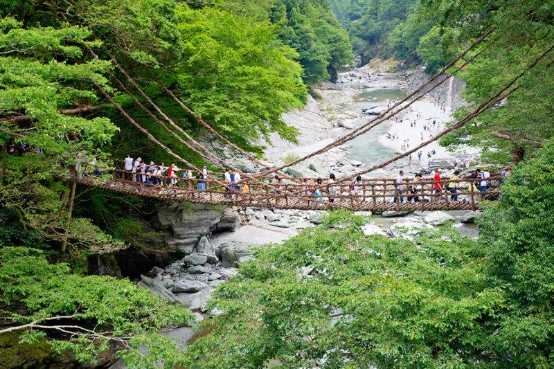 徳島県三好市で自然を楽しもう。大歩危小歩危・祖谷周辺の人気スポットをご紹介