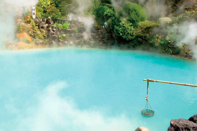 大分県の観光スポット・別府地獄めぐりでユニークな温泉風景を楽しもう!