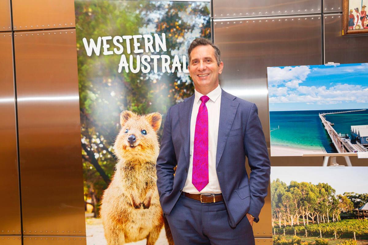 西オーストラリア州政府観光大臣 ポール・パパリアさん