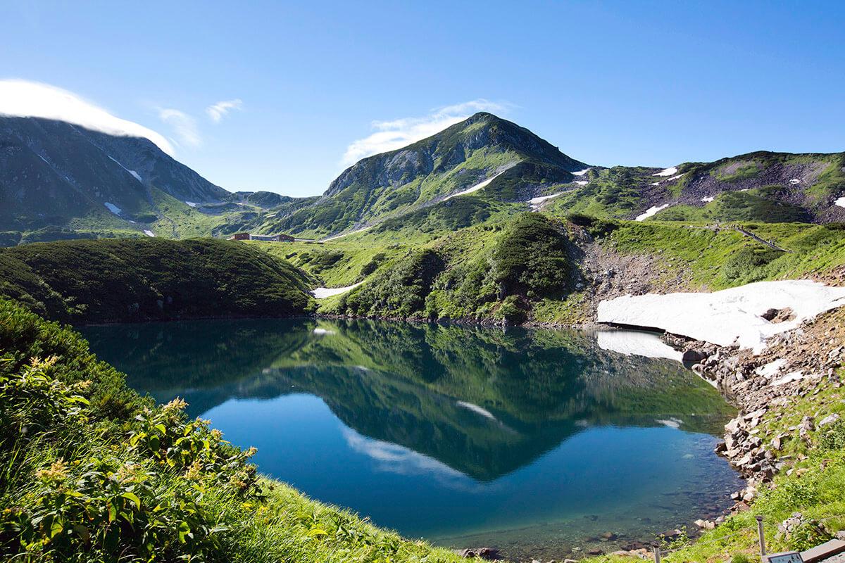 立山黒部アルペンルート 室堂・みくりが池