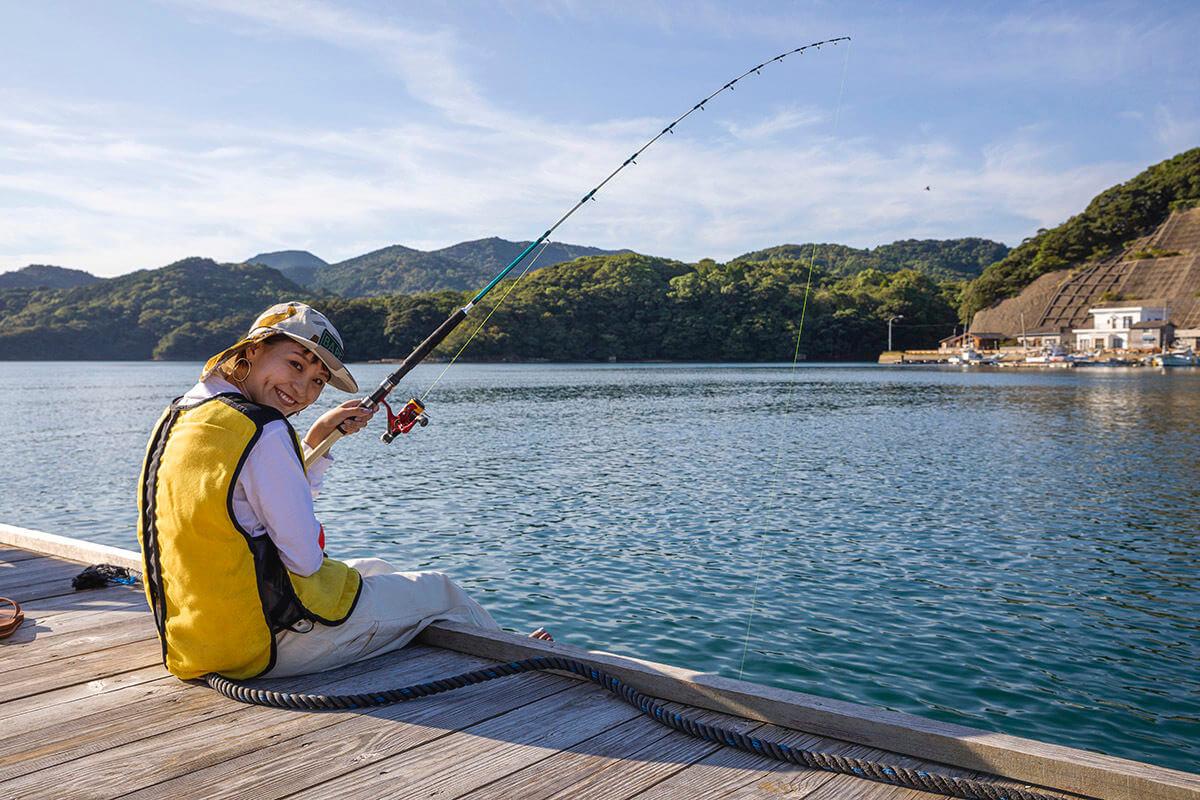 筏(いかだ)釣り体験