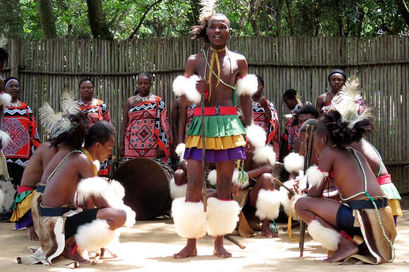 エスワティニ伝統のダンス