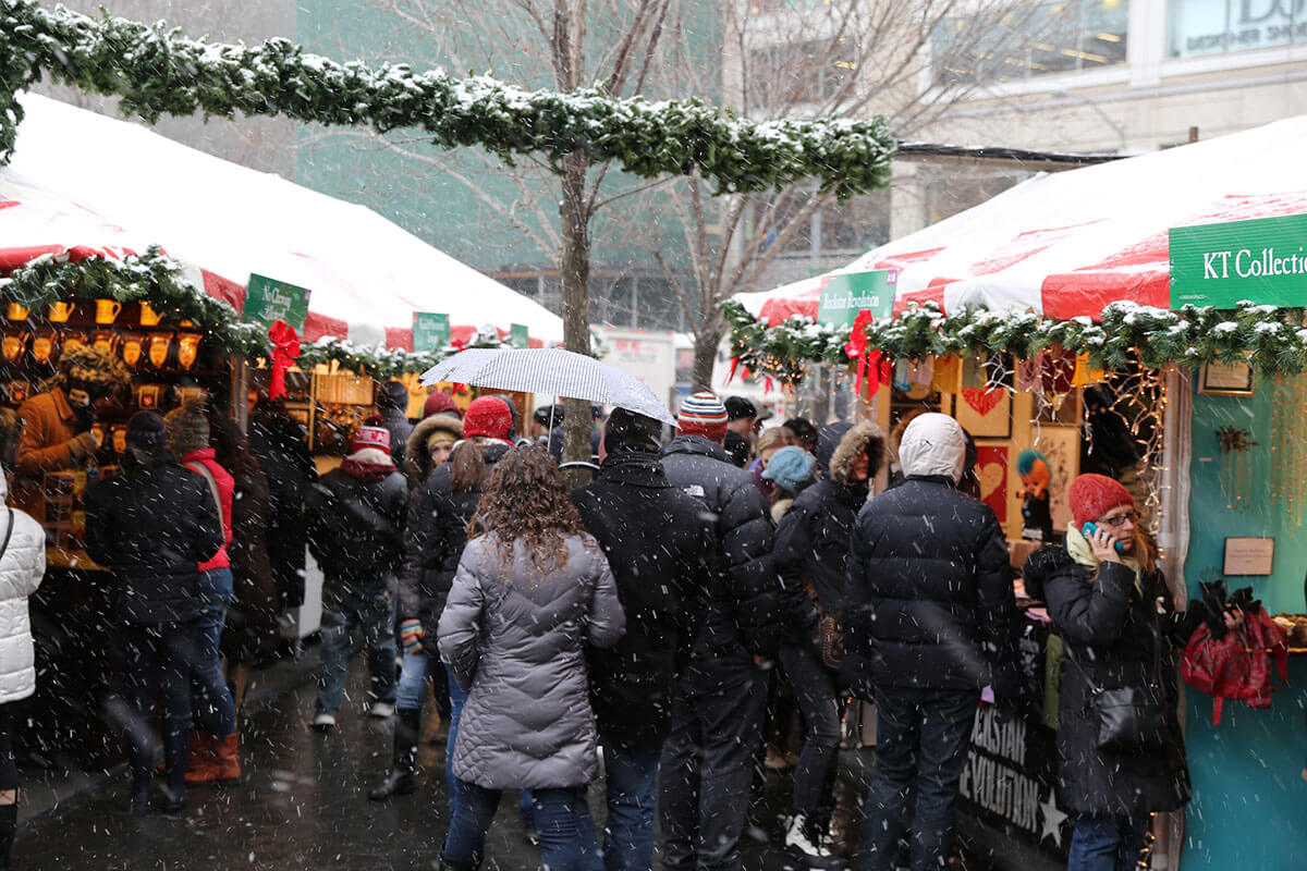 ユニオン・スクエア クリスマスマーケット