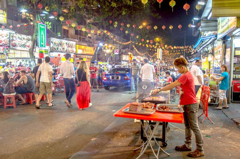 マレーシア・クアラルンプールの眠らない街!! 繁華街ブキ・ビンタンを満喫したい