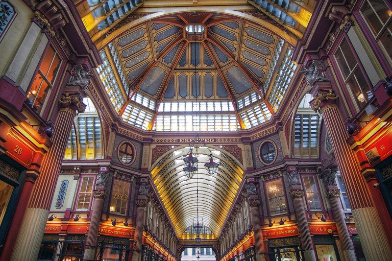 ロンドンの美しく歴史深い「レドン・ホール・マーケット」に行ってみて。