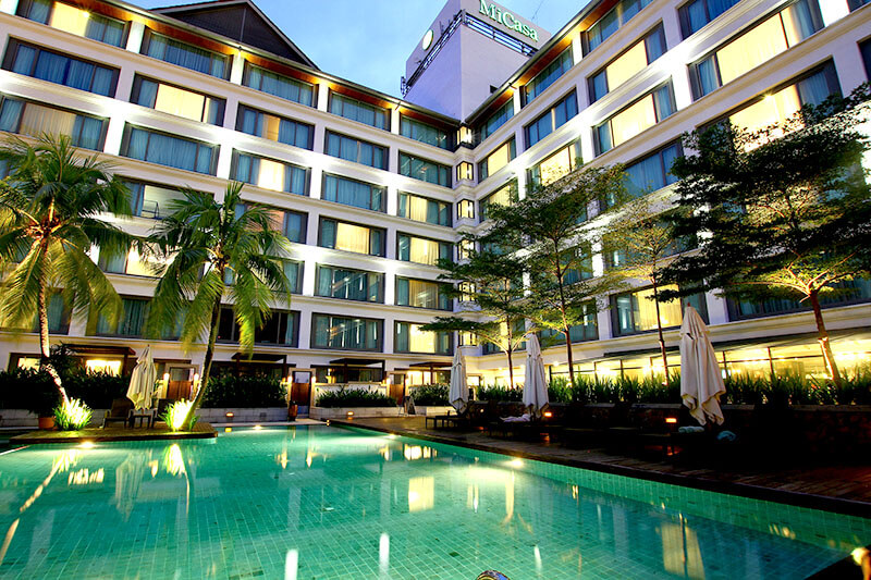 マレーシア ミカサ オール スイート ホテル