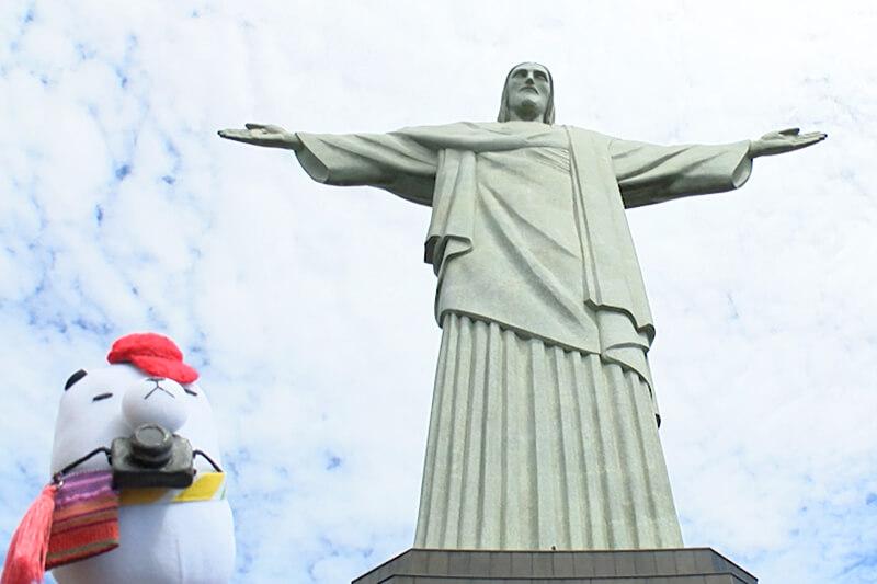 ジーンちゃんはブラジル・リオデジャネイロへ