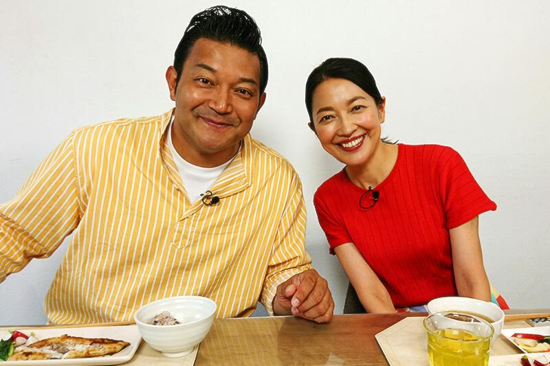 山口智充、羽田美智子 ©関西テレビ