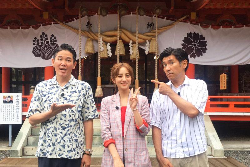 堀田茜とガレッジセールが昇仙峡へ! 女優・浅野ゆう子と巡るこの夏絶対にはずせないスポットとは?