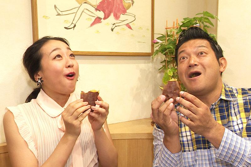 浅田真央とスイーツ巡り。蜜たっぷりの焼き芋や、賞味期限30分のモンブランに大興奮!!