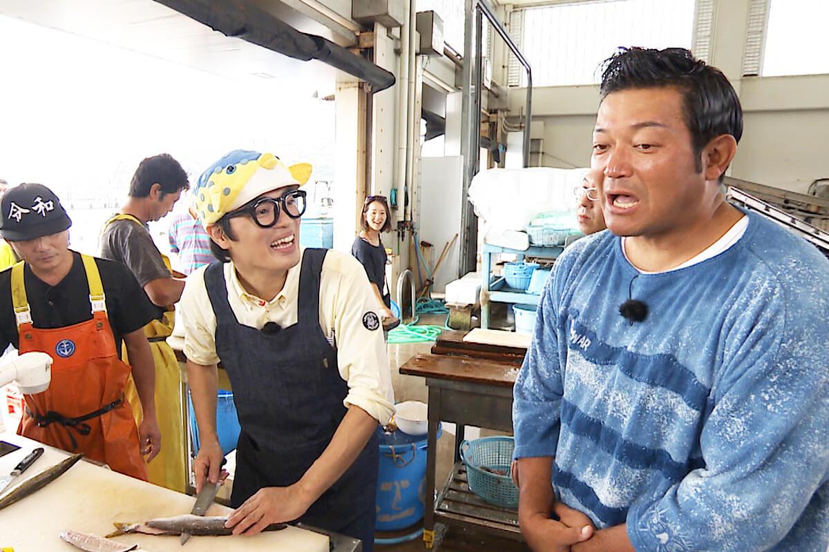 山口智充、さかなクン ©関西テレビ