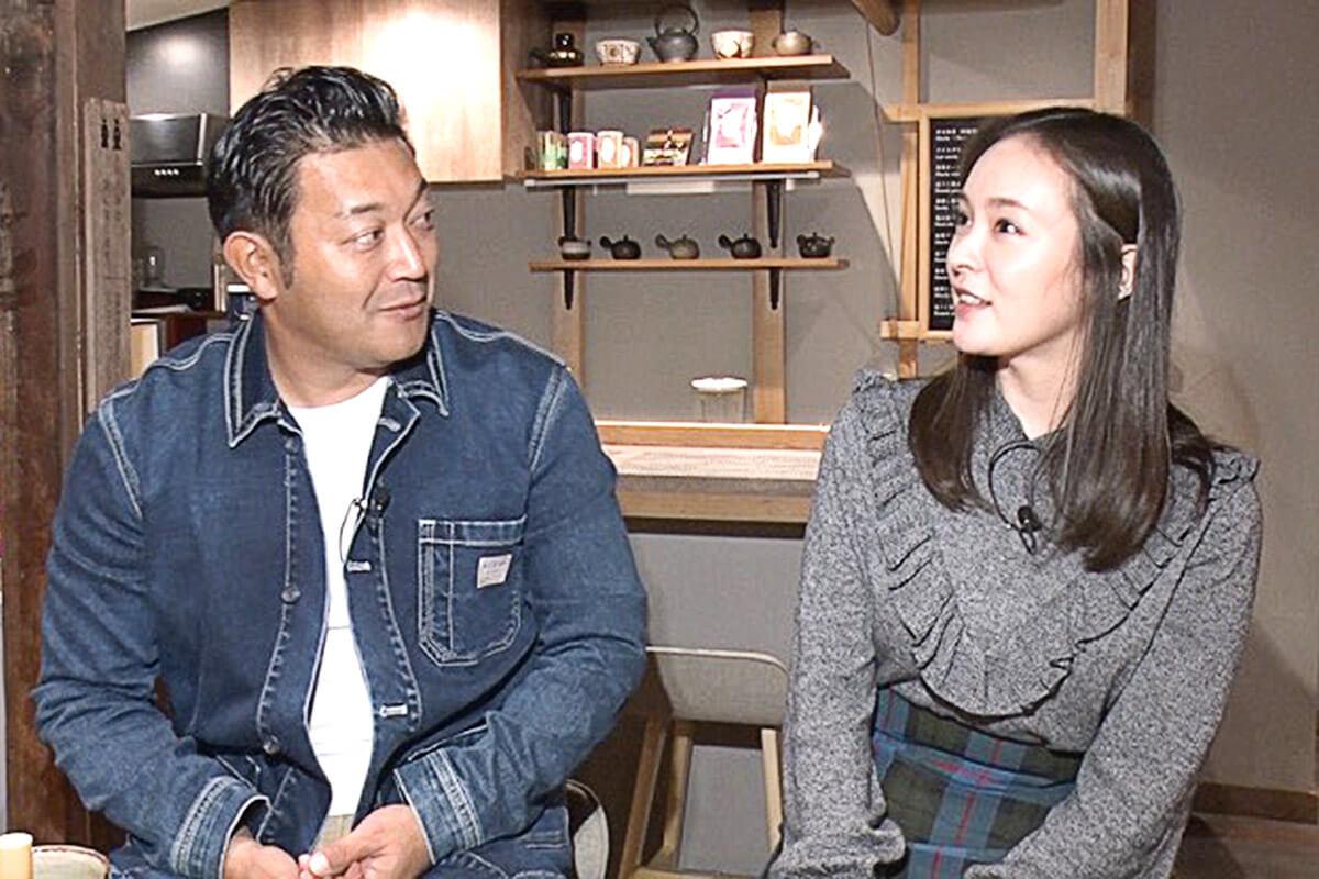 山口智充、貫地谷しほり ©関西テレビ