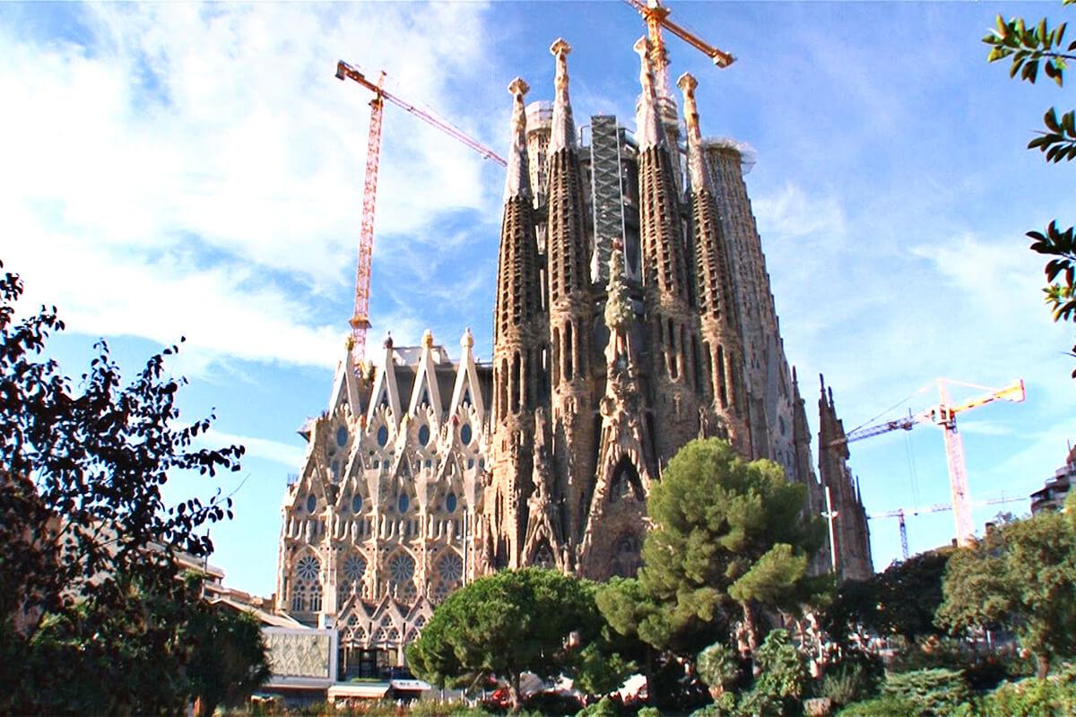 スペイン バルセロナのサグラダ・ファミリア ©関西テレビ