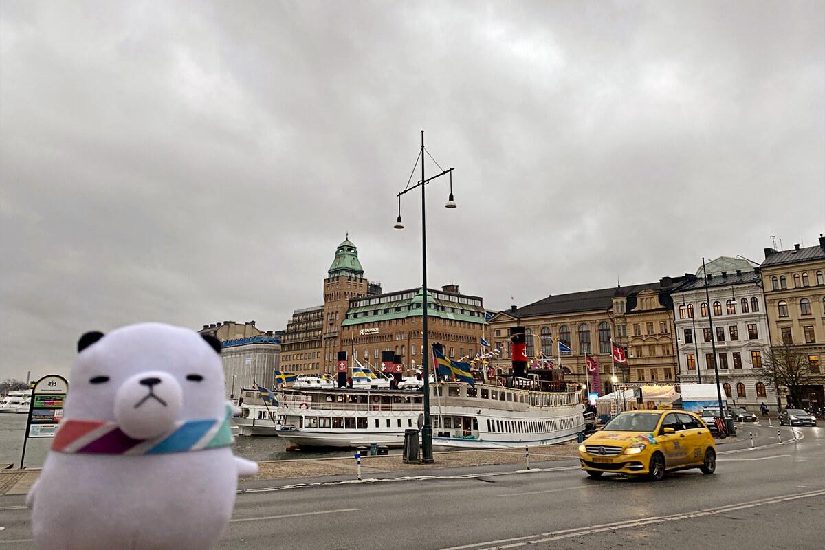 ジーンちゃんはスウェーデン・ストックホルムへ ©関西テレビ