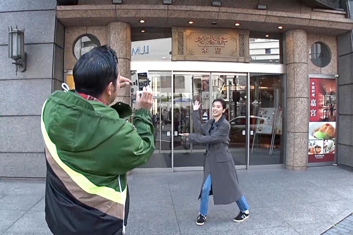 山口智充、黒島結菜 ©関西テレビ