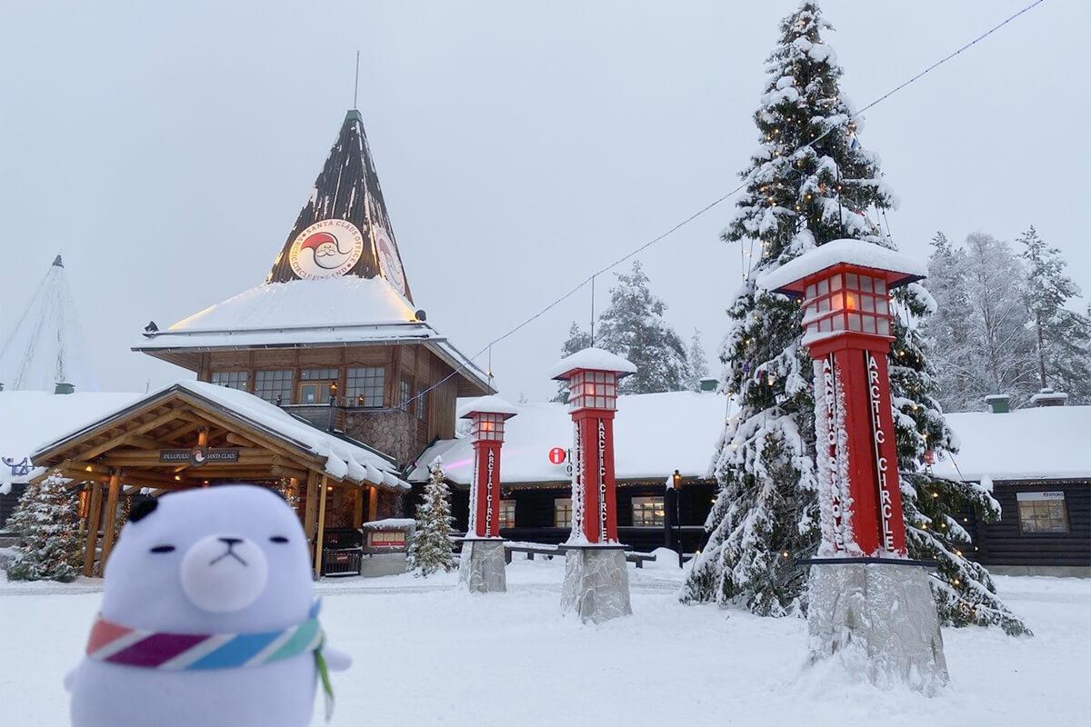 ジーンちゃんはフィンランドへ ©関西テレビ