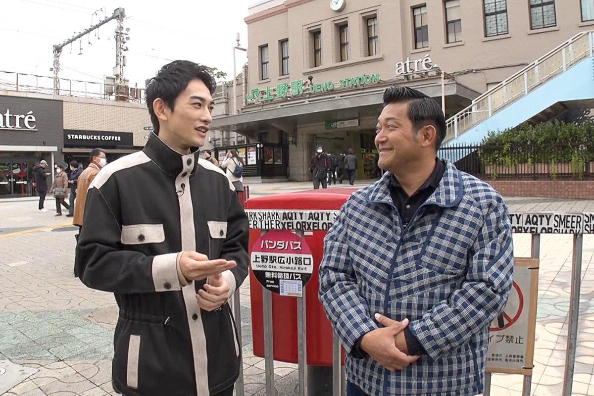 山口智充、町田啓太 ©関西テレビ
