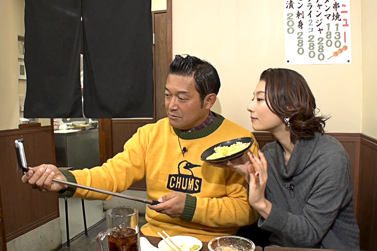 山口智充、小池栄子 ©関西テレビ