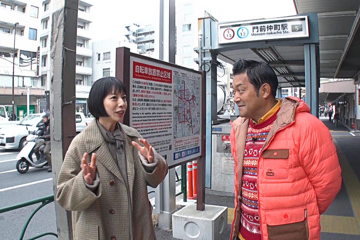 山口智充、夏帆 ©関西テレビ
