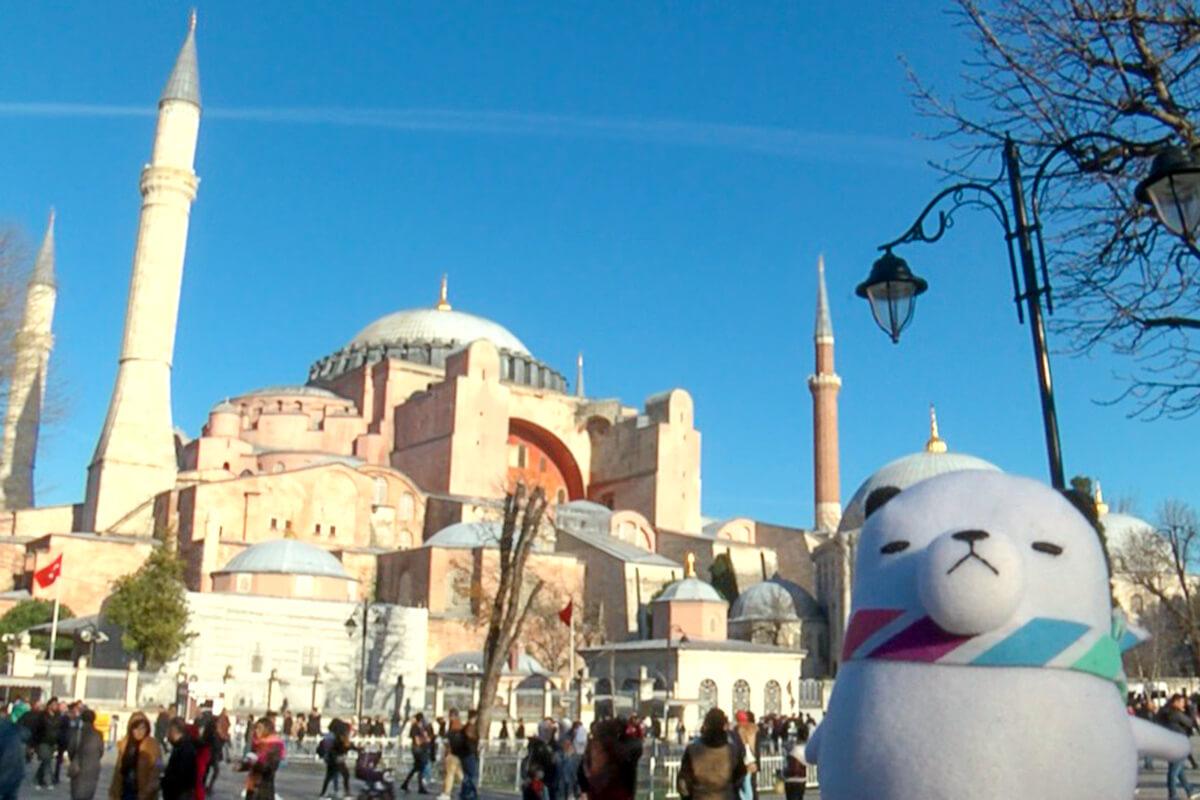 ジーンちゃんはトルコへ ©関西テレビ