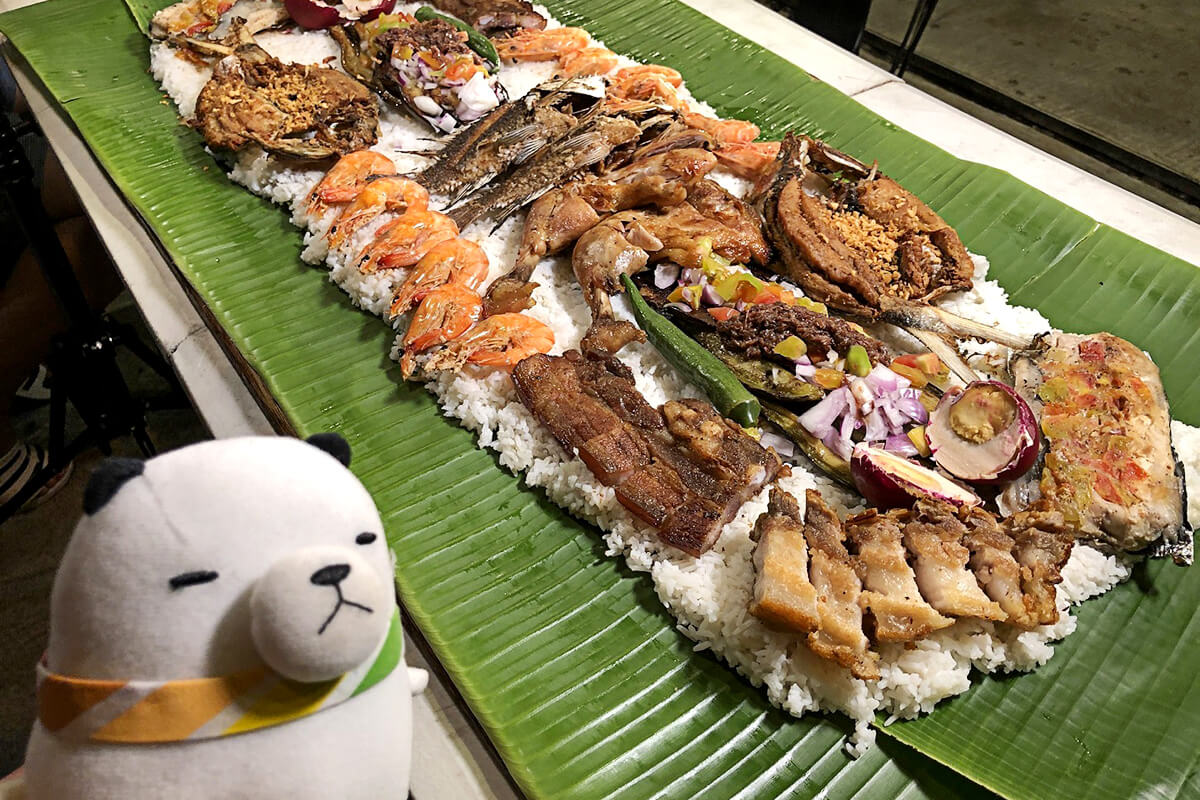 ジーンちゃんはフィリピンへ ©関西テレビ