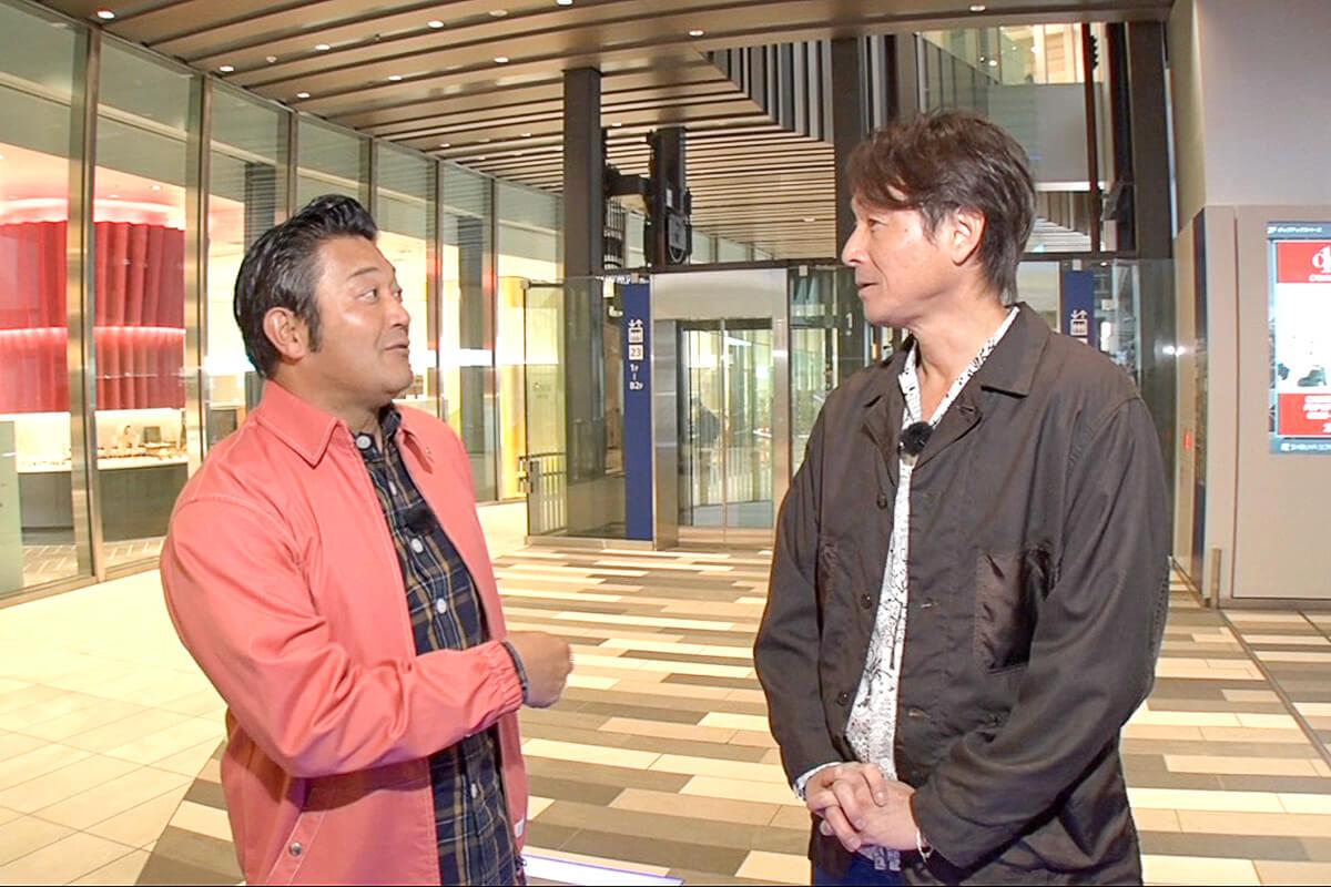 山口智充、吉田栄作 ©関西テレビ
