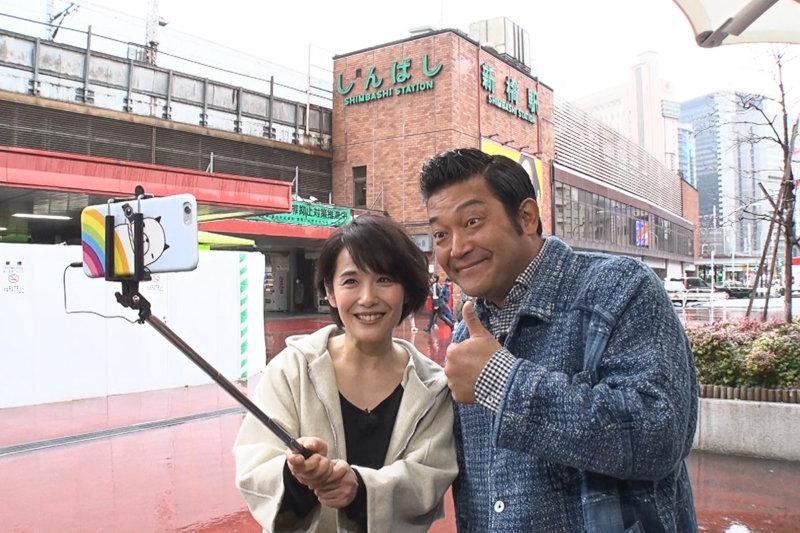 富田靖子が新橋を散策!! 都会で楽しむパワースポットとチーズリゾットとは?