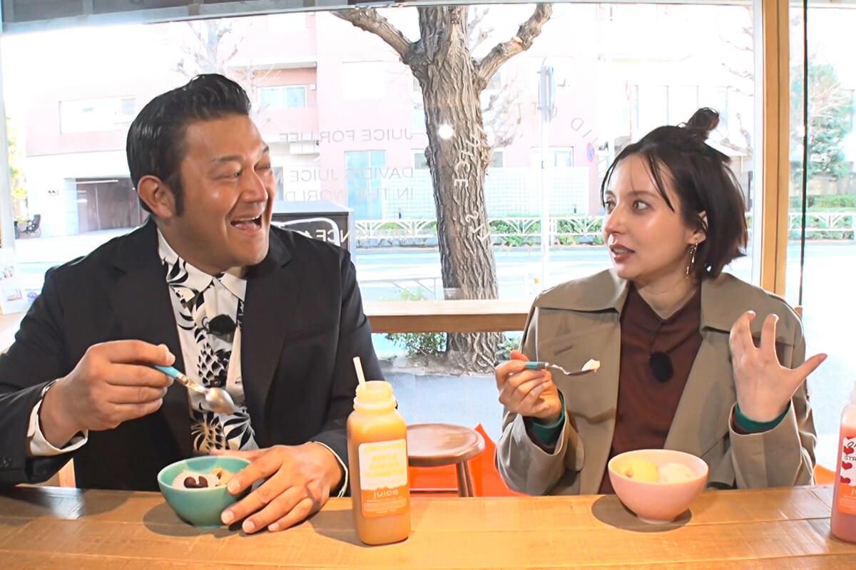 山口智充、ベッキー ©関西テレビ