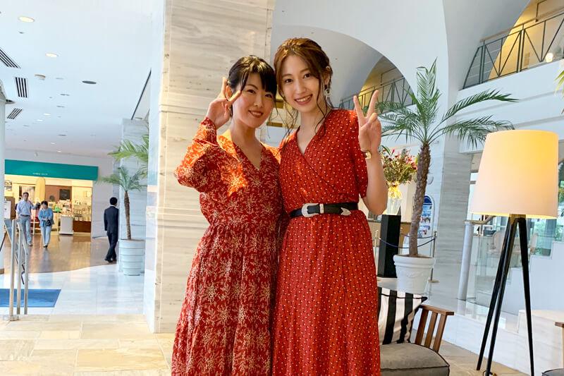 人気女優の大野いと&福田麻由子が岡山県の倉敷へ。海に面するリゾートホテルではヨット操縦を初体験!