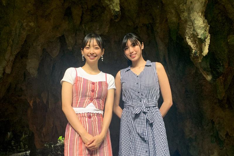 華村あすかと北向珠夕が夏の沖縄へ。ガジュマルの木が生い茂るガンガラーの谷で生命の神秘に触れる