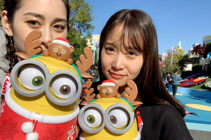 永尾まりやと早見あかりがUSJと大阪ベイエリアを遊び尽くす!ヘリコプタークルーズ体験も!