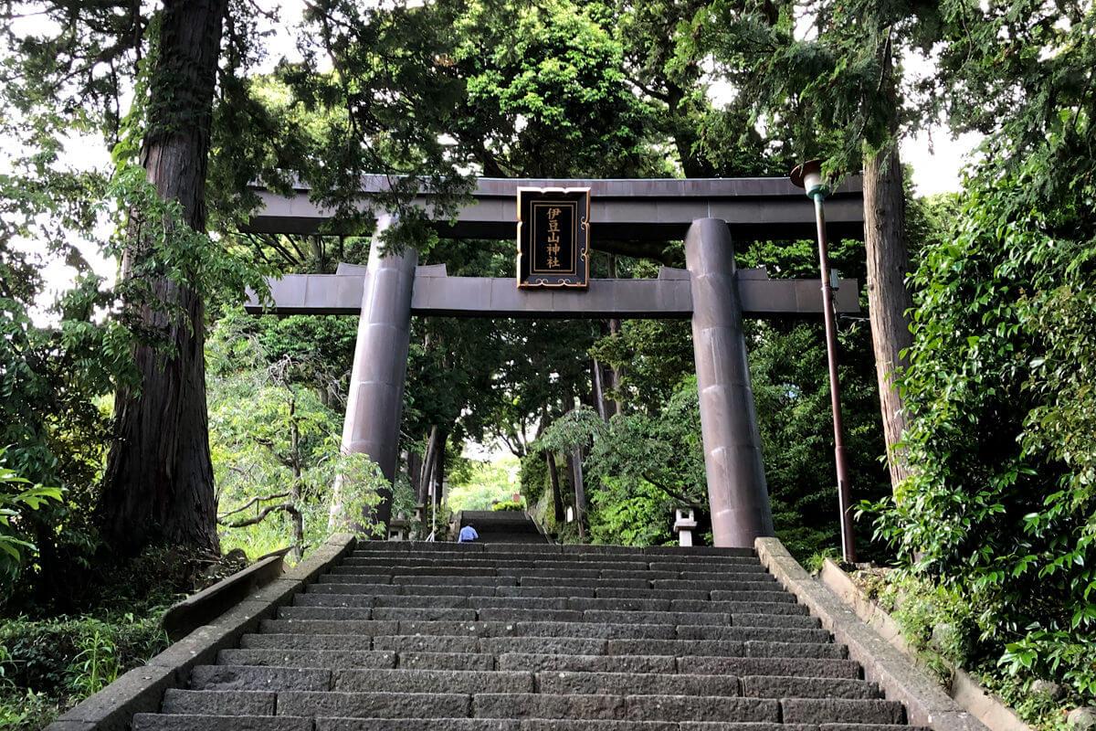 伊豆山神社 ©TBS