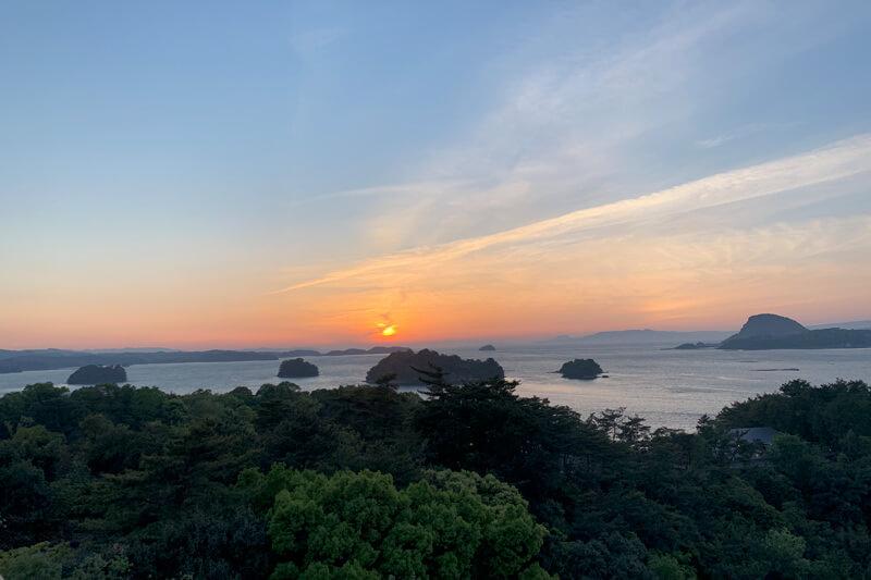 天草の夕日 ©TBS
